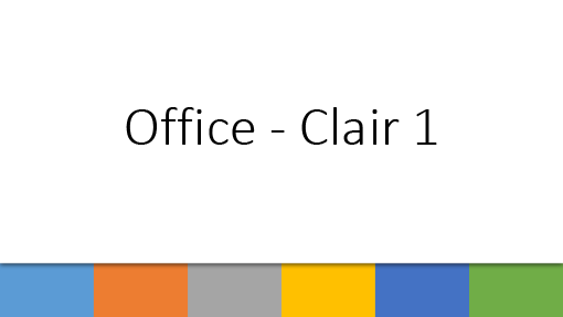 Office - Clair 1