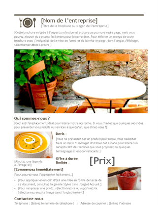Brochure numérique