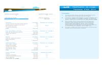 Excel Modèle Planificateur de voyage Excel GRATUIT
