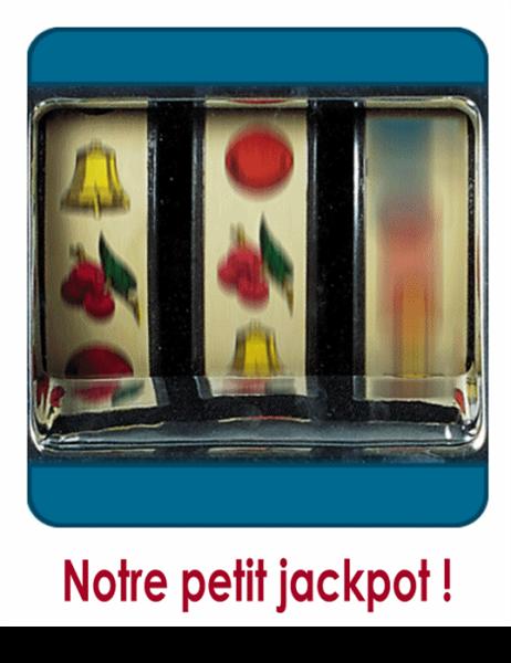 Geboortekaartje (thema fruitautomaat)