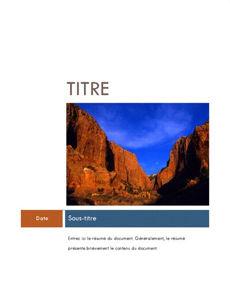 Rapport (Thème Médian)