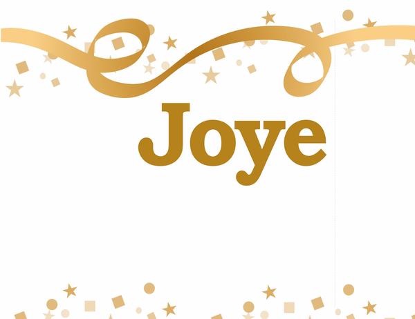 Happy birthday, (name) banner