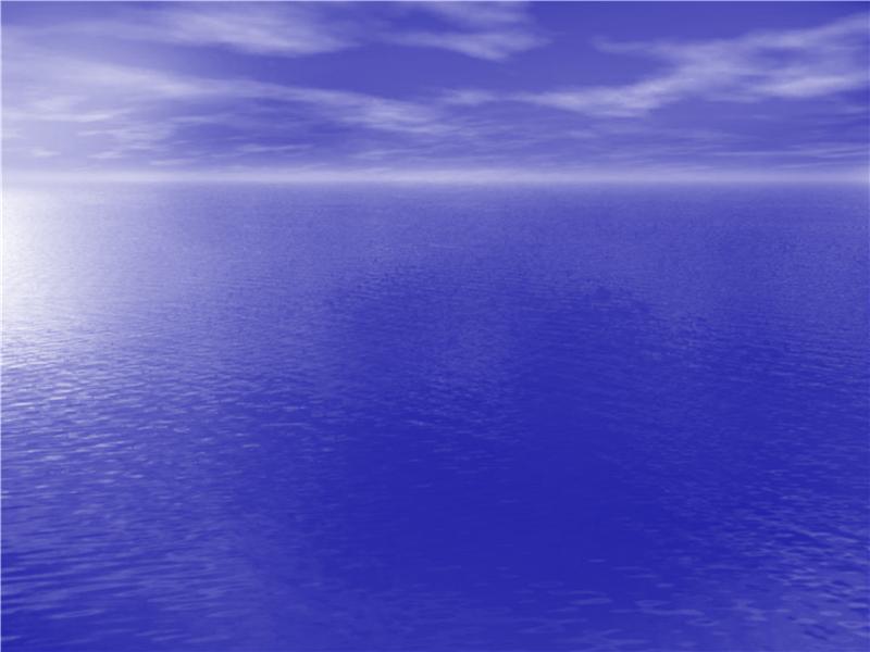 Modèle avec motif d'océan