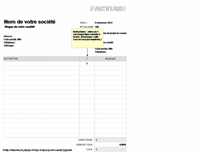 Rechnung mit teilweise berechneter Umsatzsteuer