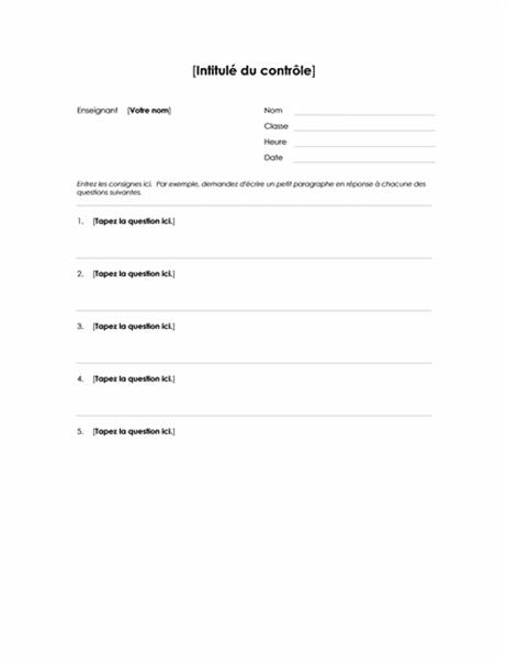 Test Dissertation