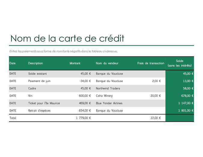 Creditcardlogboek