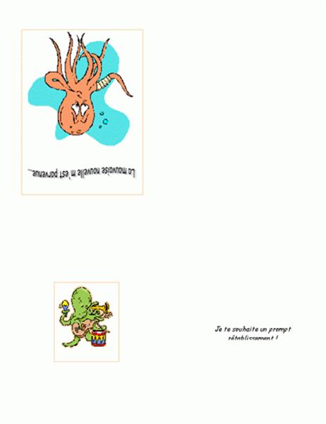 Prompt rétablissement (pieuvre)