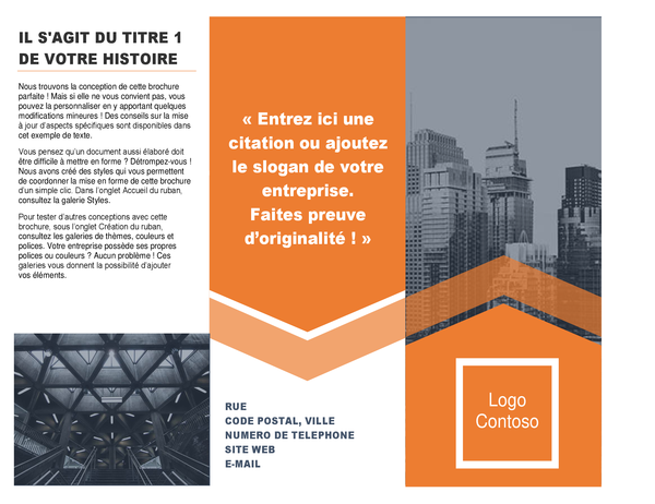 Architectuurbrochure