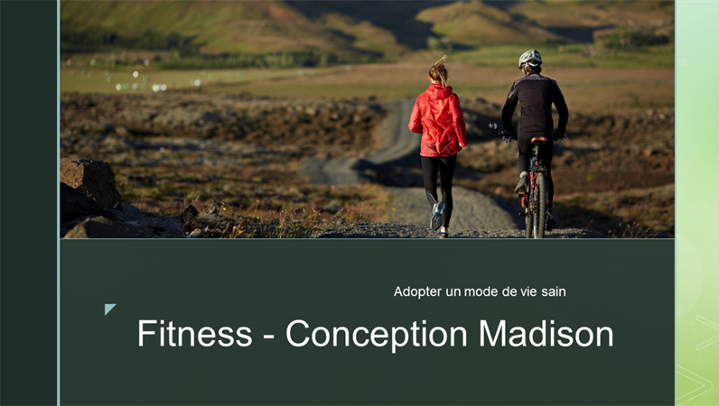"Fitness, Design ""Madison"""