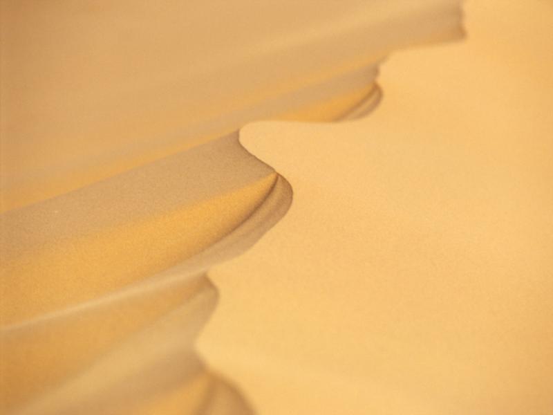 Thème désert - Dune serpentée