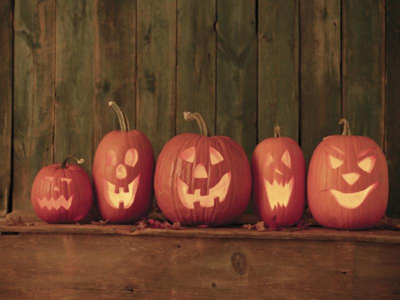 Thème halloween - Citrouille en famille