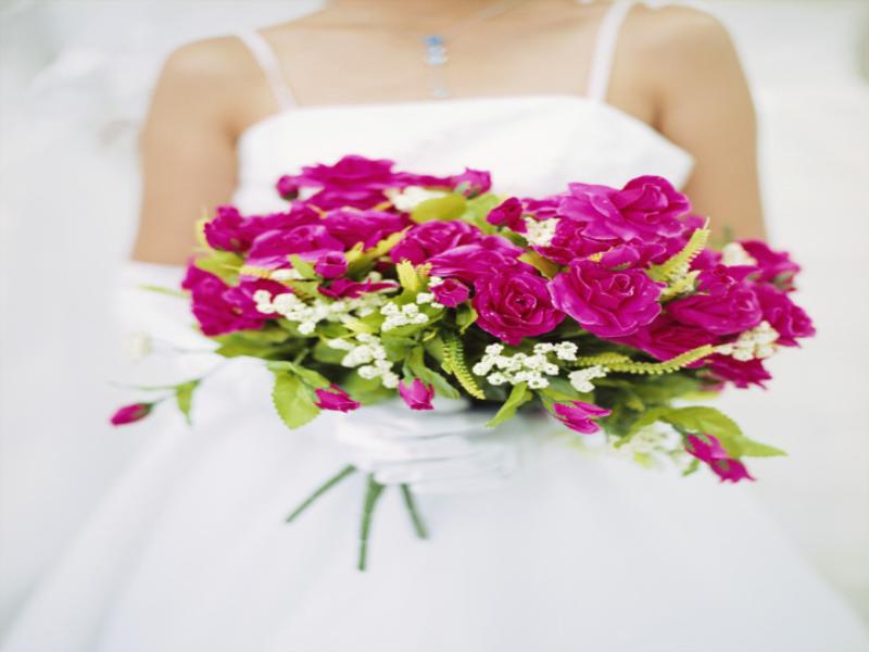 Thème mariage - Bouquet de roses