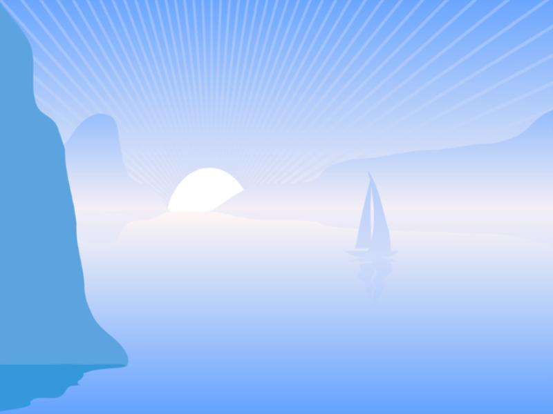 Thème mer - Concept voilier