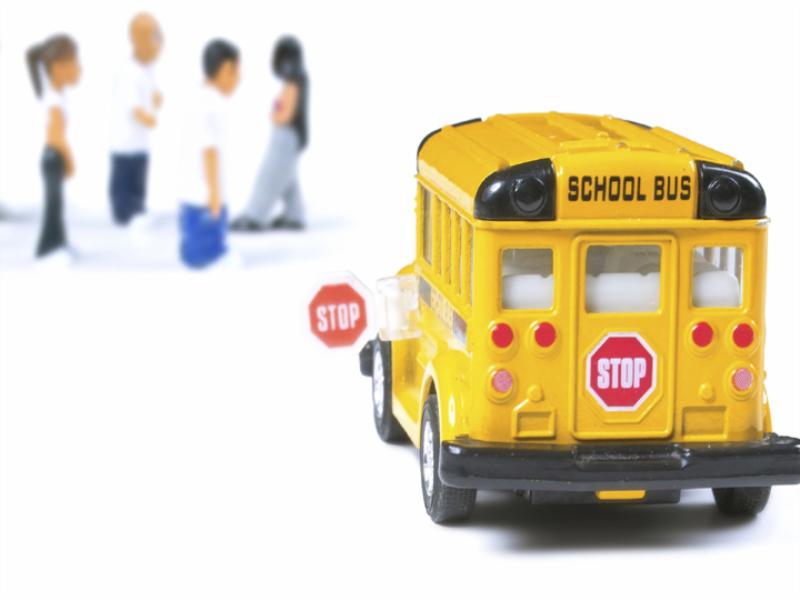 Thème scolaire - Bus