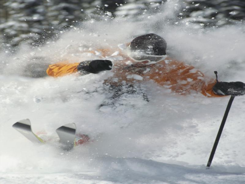 Thème ski - Poudreuse à volonté