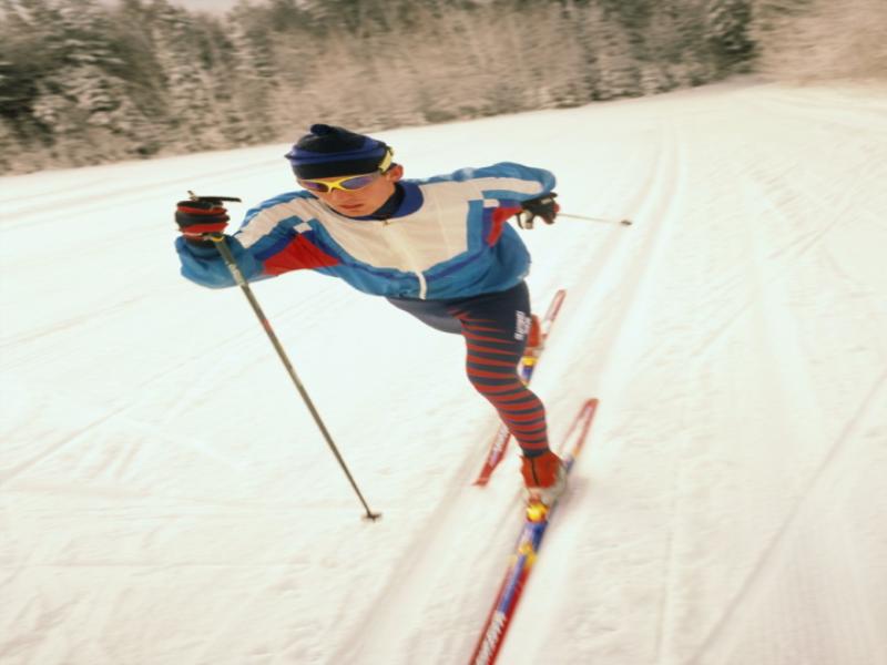 Thème ski - Ski de fond