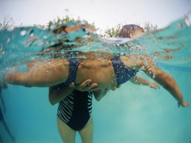 Thème natation - Apprendre à nager