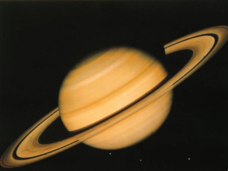 Thème espace - Saturne