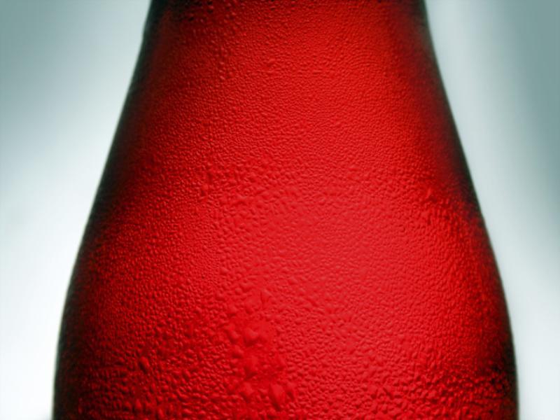 Thème vin - Bouteille rouge