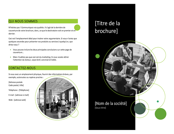 Brochure technologie