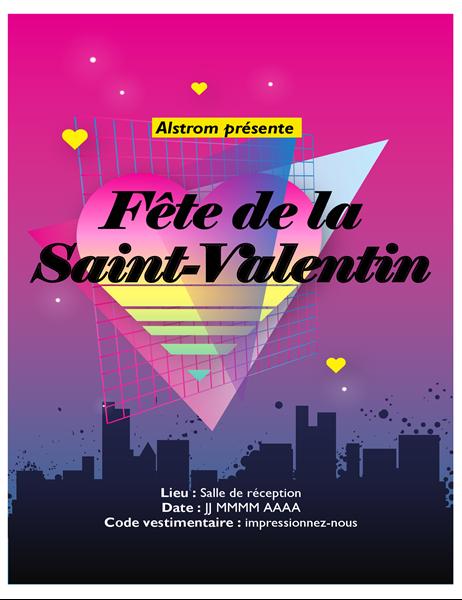 Jaren '80 folder voor Valentijnsdag