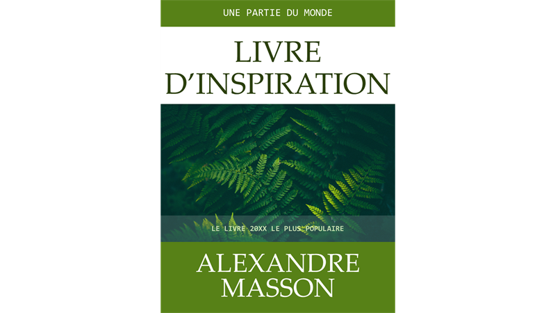 Couvertures de livres d'inspiration