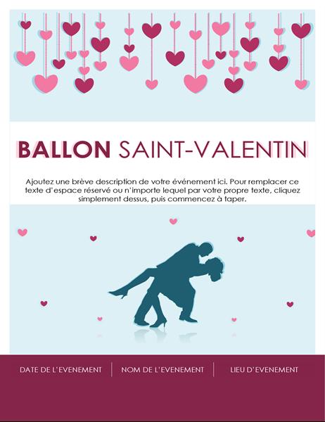 Prospectus fête de la Saint-Valentin