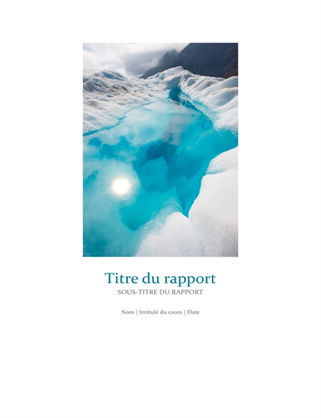 Studentenverslag met coverfoto