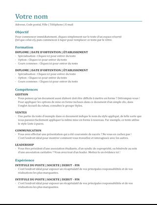 CV (couleur)