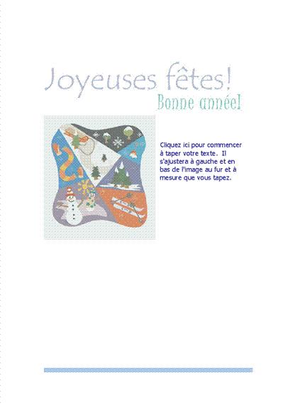 Papier à lettres (avec scène de sports d'hiver)