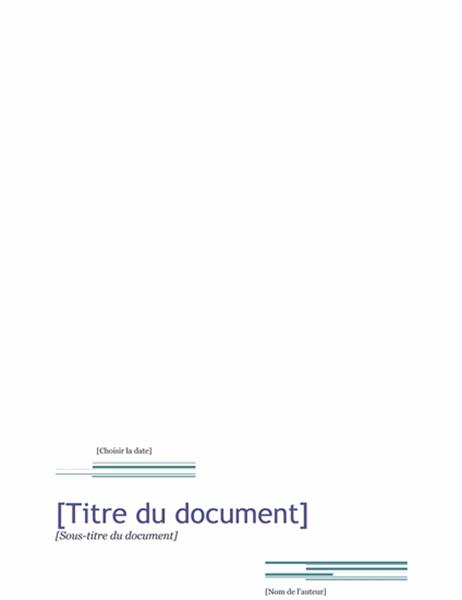 Rapport (Thème Urbain)