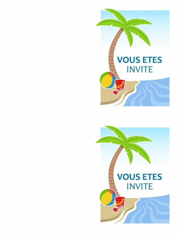 Invitation à une fête