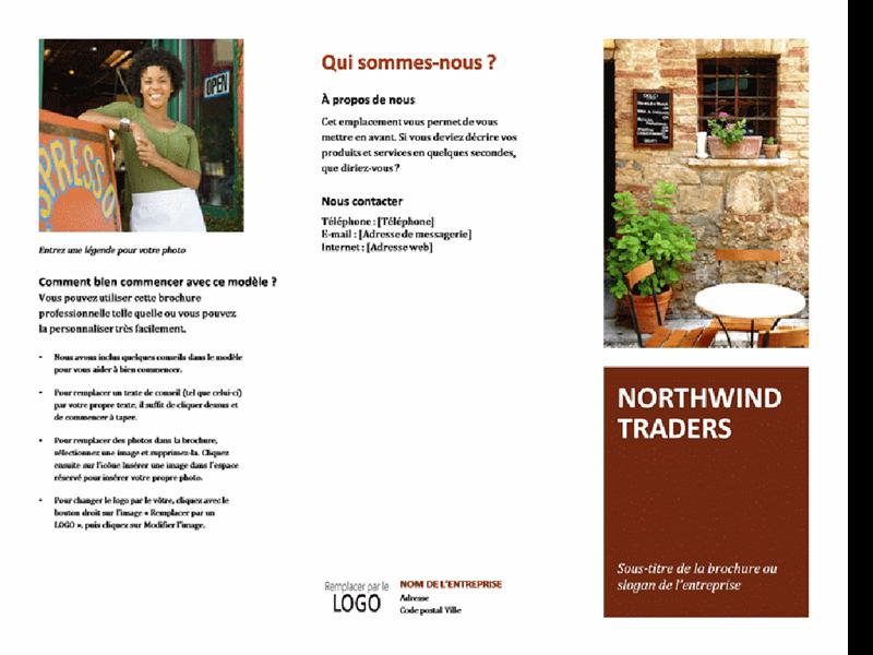 Brochure pour petite entreprise