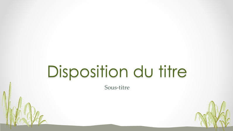 Diapositives conception Littoral