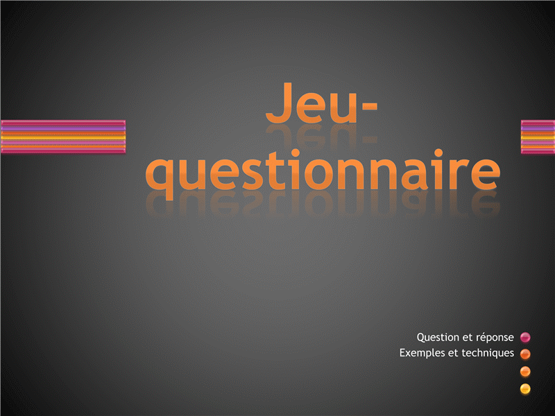 Jeu-questionnaire