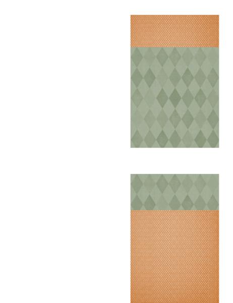 Carte de remerciements (style Moisson)
