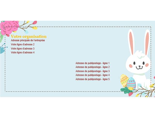 Enveloppe Pâques