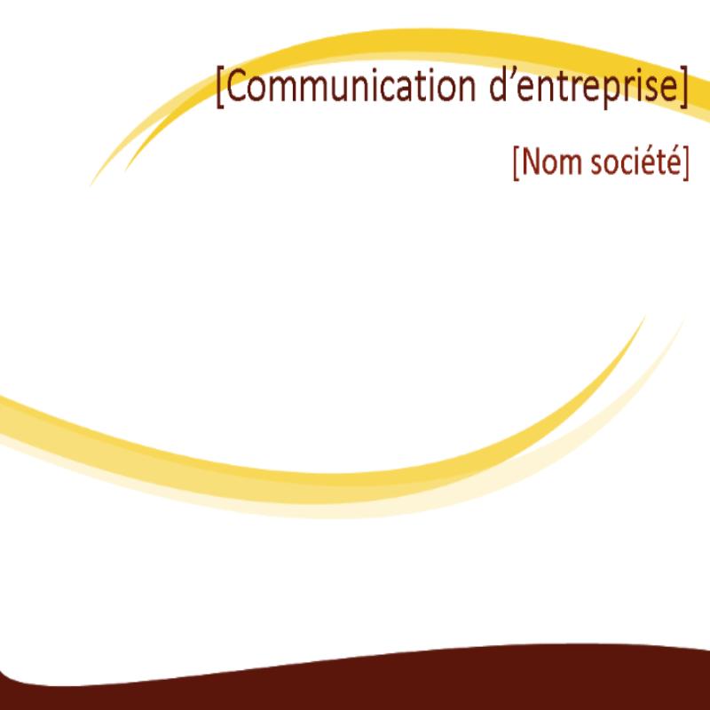 Diapositives de conception professionnelle (conception Ondulation bordeaux)
