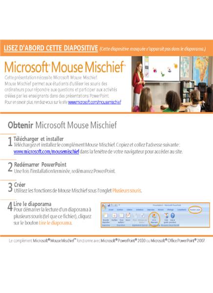 Figures géométriques Mouse Mischief