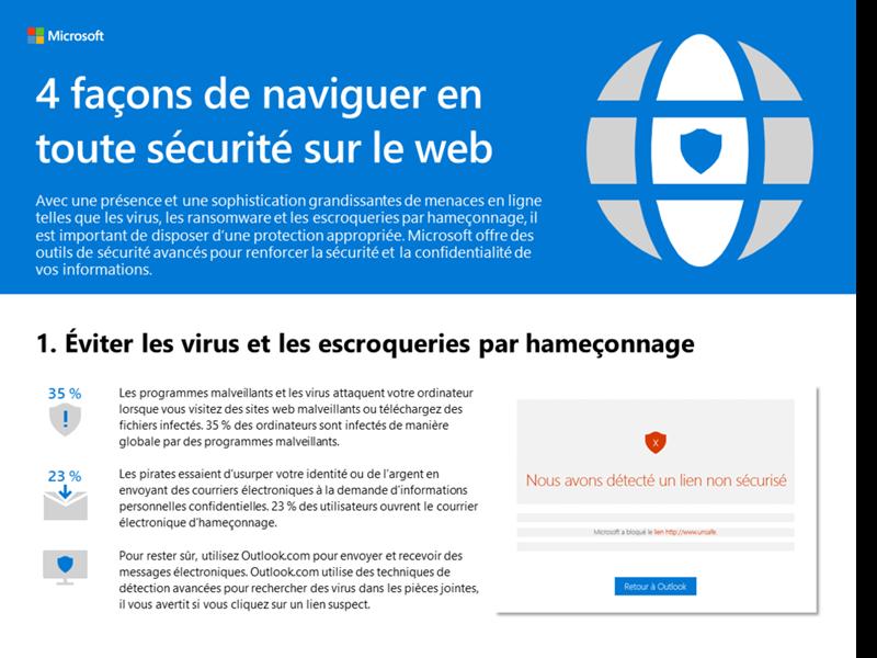 Voici 4 façons de naviguer en toute sécurité sur le web