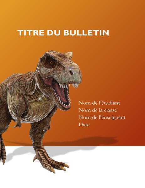 Bulletin scolaire avec modèles 3D