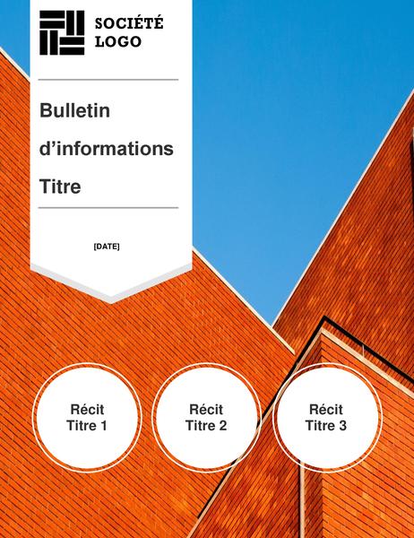 Bulletin d'informations de constructeur
