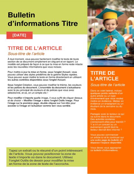 School newsletter