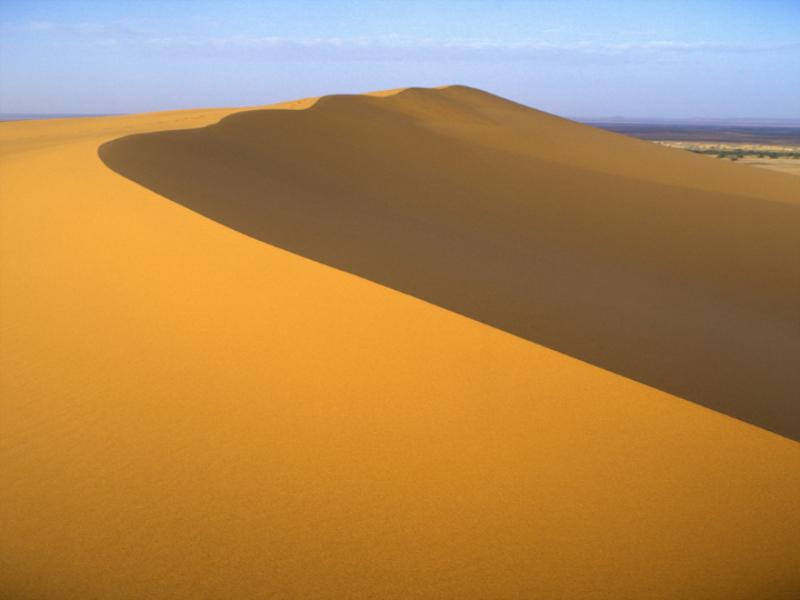 Thème désert - Dune en or