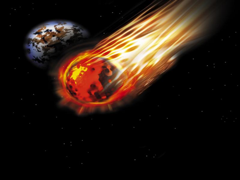 Thème espace - Astéroïde
