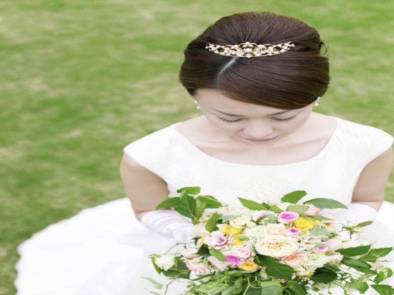Thème mariage - La mariée