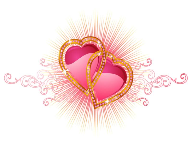Thème Saint Valentin - Concept diamands