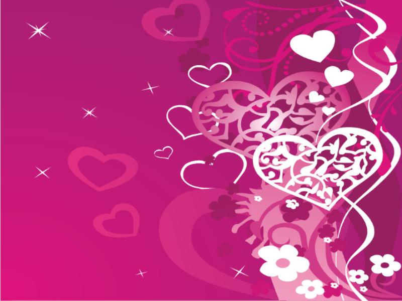 Thème Saint Valentin - Concept patchwork pink