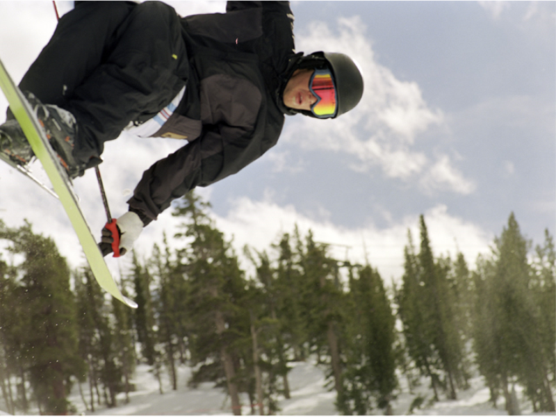 Thème ski - Saut acrobatique