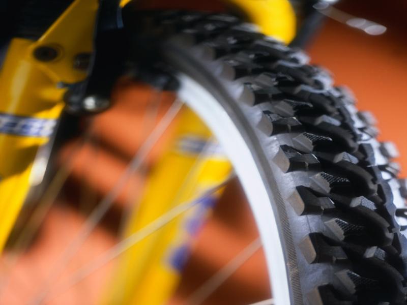 Thème vélo - VTT roue